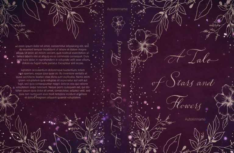 A Dream of Stars and Flowers Premade Cover