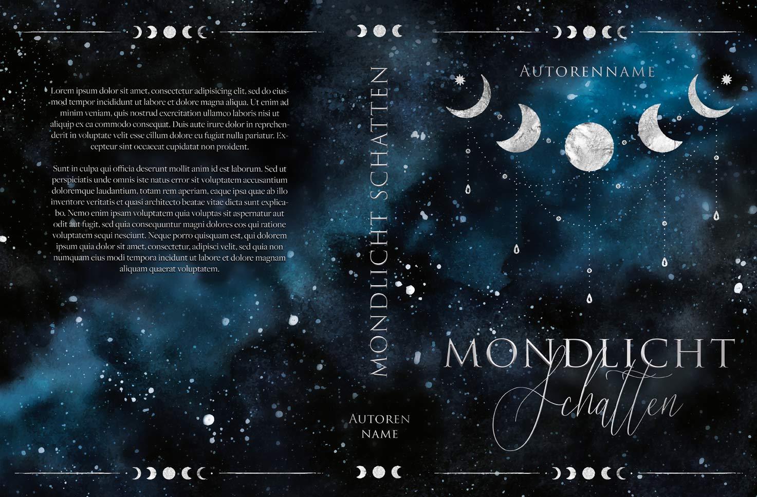 Mondlicht Schatten Premade Cover